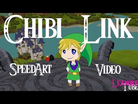 Chibi Link - Speed Art - Photoshop/Illustrator CS6
