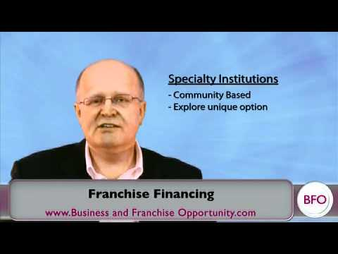 Franchise Financing Information