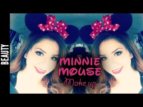 Minnie Mouse Inspired Make Up, Smoky Black and Red - The290ss