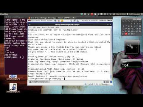 Secure FTP with TLS/SSL   How Configuring FTPS Tutorials at Networknuts