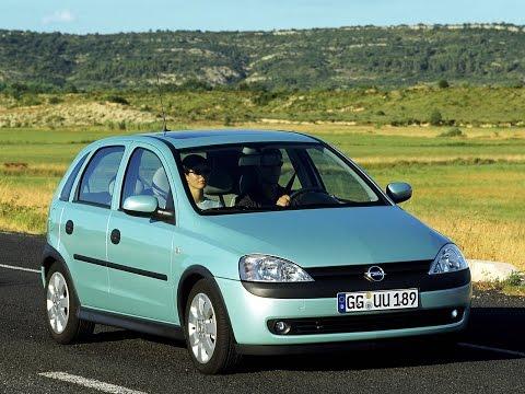 Opel Corsa C 2004 door panel removal