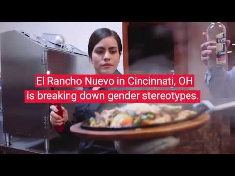 El Rancho Nuevo - Diana the first lady GM in a Mexican Restaurant in the Midwest