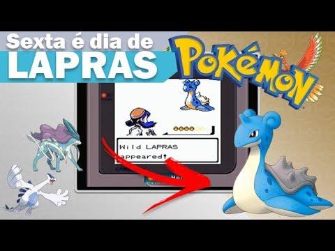 Sexta Feira é dia de Lapras - Pokemon Gold, Silver, Crystal - 3DS (Virtual Console)