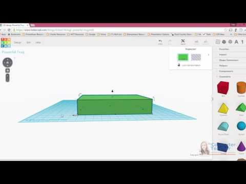 04 (of 13) - How to Draw a Shape in Tinkercad