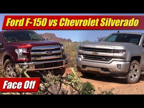 Face Off: Ford F-150 5.0 V8 vs Chevrolet Silverado 5.3 V8