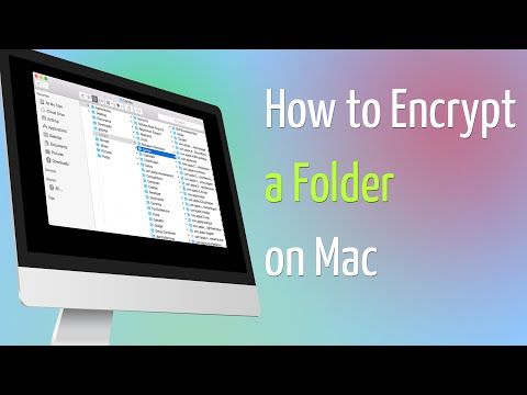 How to Encrypt a Folder on Mac