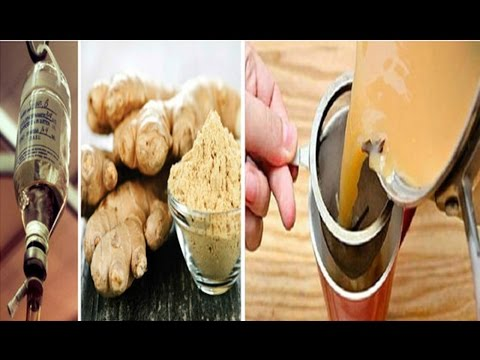 😍Ancient Ginger Tea Recipe Revealed Dissolves Kidney Stones, Cleanses Liver and Kills Cancer Cells