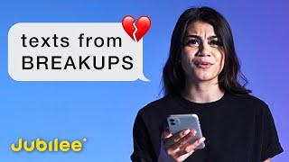 People Read Their Last Breakup Texts