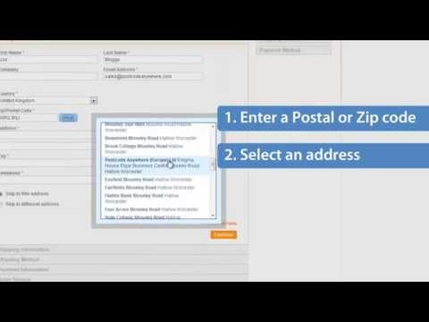 Postcode Anywhere for Magento