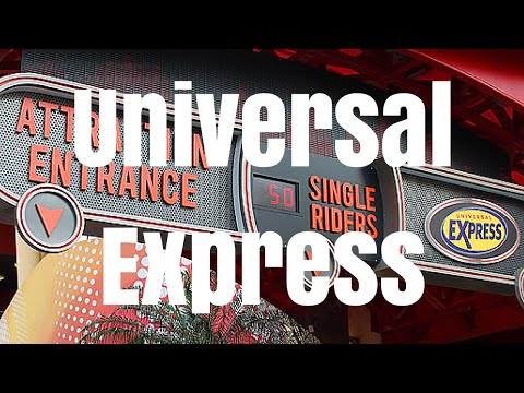FREE UNIVERSAL EXPRESS AT THE UNIVERSAL ORLANDO HOTELS