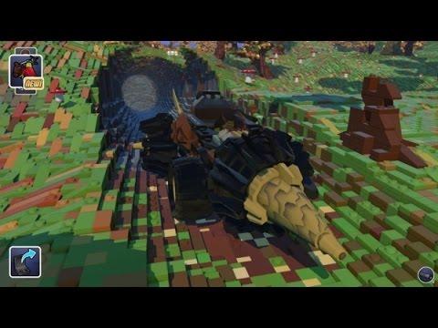 LEGO Worlds: Minecraft 2.0? Open World Game Steam Waiting for PewDiePie