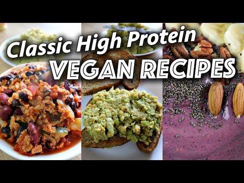 EASY HIGH PROTEIN VEGAN RECIPES (healthy & delicious)