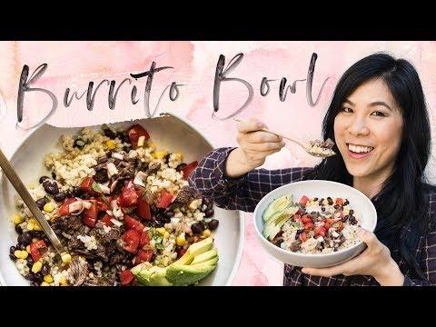 Barbacoa BURRITO BOWL with Mealthy MultiPot - Pressure Cooker Recipe