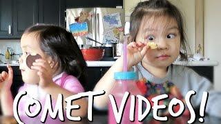COOKIE COMET VIDEOS! - March 16, 2017 -  ItsJudysLife Vlogs