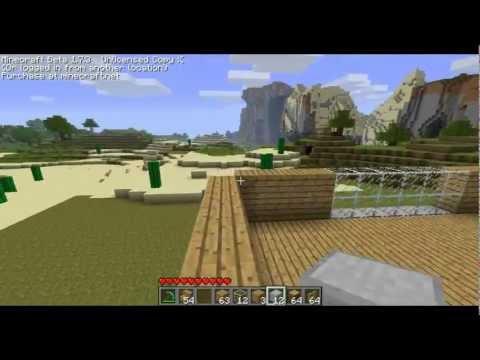 [FR] MineCraft - Faire une belle maison protégé ! (Part1)