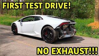 Rebuilding A Wrecked Lamborghini Huracan Part 9