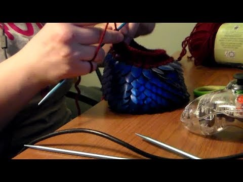 Scalemail Dice Bag With Pattern
