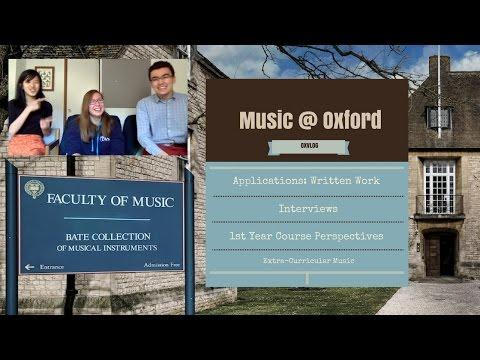 TT3: Music at Oxford