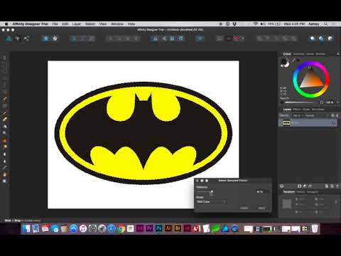 How to Quickly Convert a JPG to a Transparent PNG in Affinity Designer