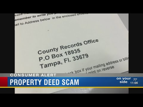 Property deed scam