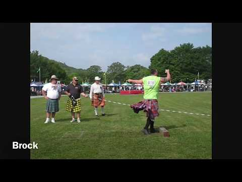 2009 Grandfather Mountain Highland Games                           Pros LWFD