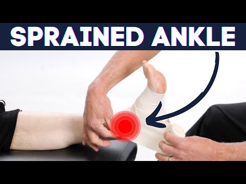 Sprained Ankle?: How to wrap Ankle Sprains-correct