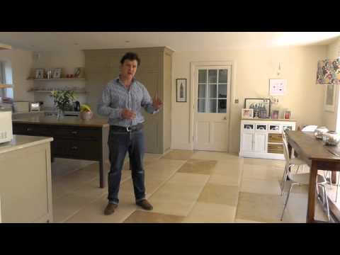 How to seal Limestone flooring tiles