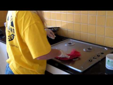 Cleaning Support Services - Training Video 3: How to Clean Stove Top, Range Hood, Oven Racks