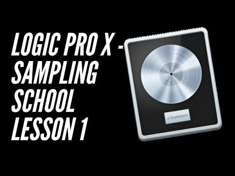 Logic Pro X - Sampling School Lesson 1 - Auto Chop