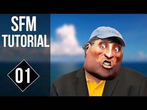 Source Filmmaker Tutorials - Locking Items To A Character - SFM Tutorial #1