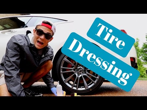 Best Car Tire Dressing: How to properly dress car tires