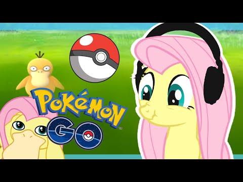 Fluttershy plays Pokemon Go 🍉 | CATCH THEM ALL! | Part 1