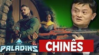 Trailer Em Live Action Do Paladins Anuncio Conferncia Chinesa