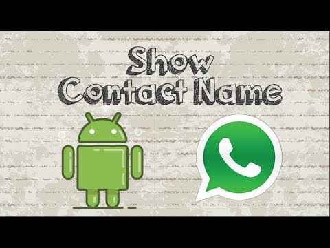 FIX ! Whatsapp contacts not showing names on Android