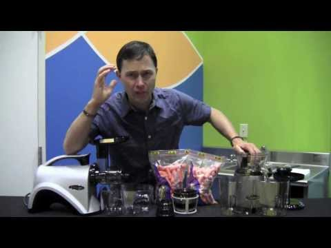 Omega VRT400 vs Omega NC800 Juicer Carrot Juicing Comparison Review