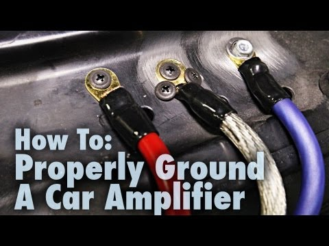 How to Properly Ground a Car Amplifier | Good & Bad Examples | Car Audio 101