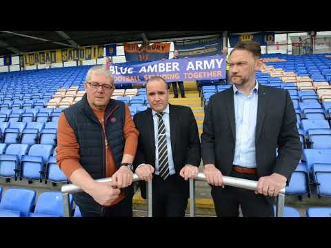 Shrewsbury Town FC introduces standing seats