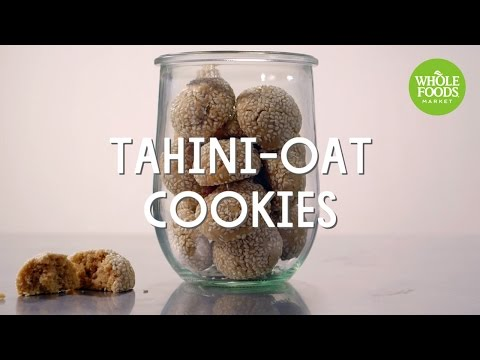 Tahini-Oat Cookies | Special Diet Recipes | Whole Foods Market