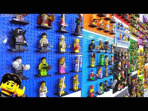 All 400+ LEGO Collectible Minifigures (CMF) display update!