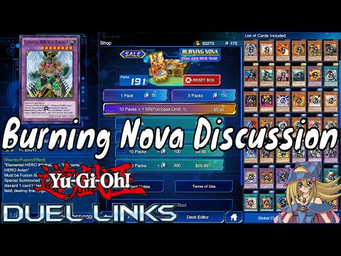 Yugioh Duel Links Season 2 Ep. 26 - Burning Nova Discussion