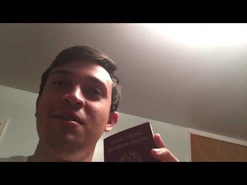 Ce l'ho il passaporto Italiano come un americano!!!