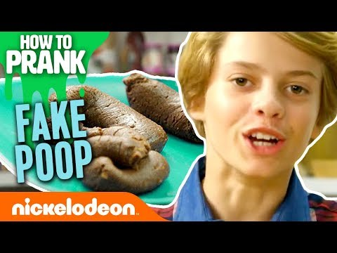 How to Prank | Jace Norman Makes Fake Poop | Nick
