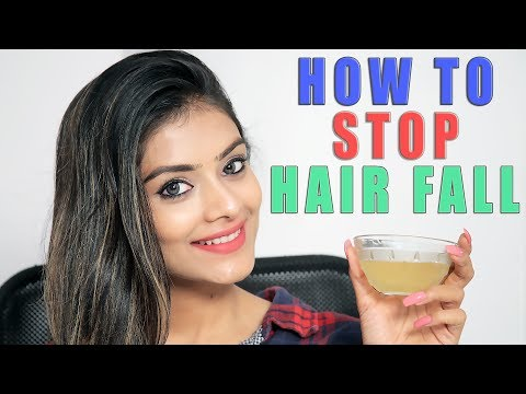 How to Stop Hair Fall | DIY | Healthy Hair Remedy | Home Remedy | Hair Tutorial | Foxy