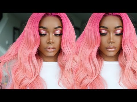 The PERFECT Pink Hair for Brown skin/WOC/POC + Natural hair Update | Cexxy Hair