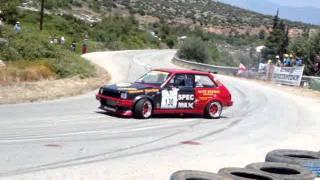 Stathis Papargiropoulos in Escort MK2 Cosworth Tountas