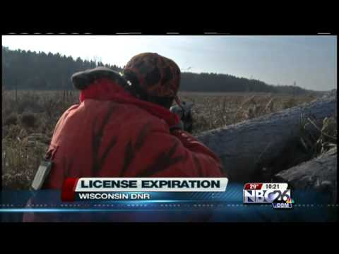 Hunting License Expiration Date
