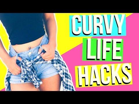 How To Get A Curvy Body! Curvy Life Hacks!!