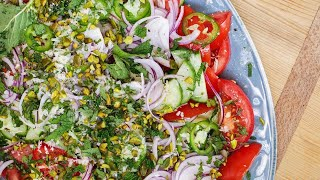 Rachael's Tomato-Cucumber Salad with Chilies and Mint