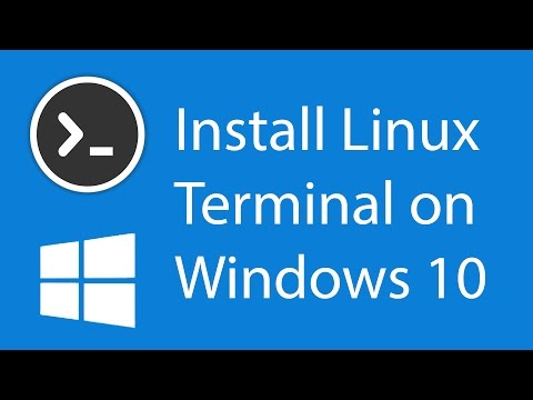 How to install the Linux Terminal on Windows 10