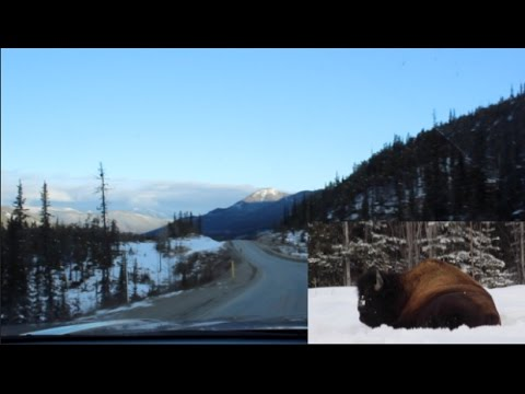 Driving the Alaska Highway, Time lapse
